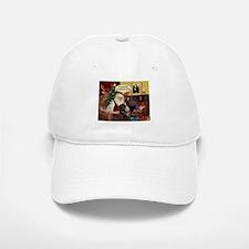 Santa's Chocolate Lab (TH) Baseball Baseball Cap