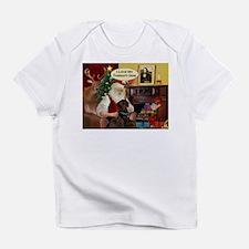 Santa's Chocolate Lab (TH) Infant T-Shirt