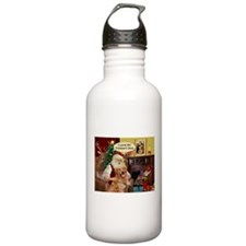 Santa's Golden (Therapy) Water Bottle