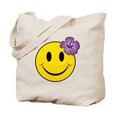 Unique Flower girl Tote Bag