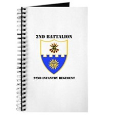 DUI - 2nd Bn - 22nd Infantry Regt with Text Journa