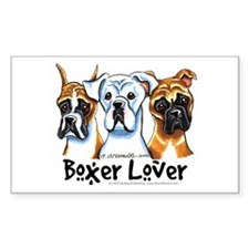 Boxer Lover Decal