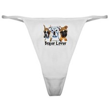 Boxer Lover Classic Thong
