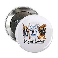 """Boxer Lover 2.25"""" Button"""