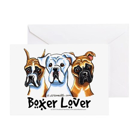 Boxer Lover Greeting Card