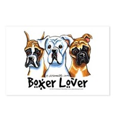 Boxer Lover Postcards (Package of 8)