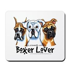 Boxer Lover Mousepad