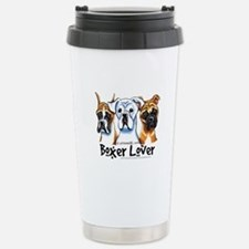 Boxer Lover Travel Mug