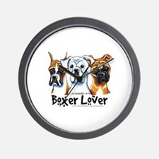 Boxer Lover Wall Clock