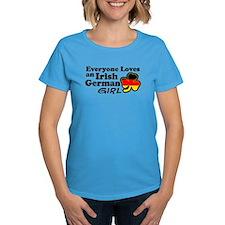 Irish German Girl Tee