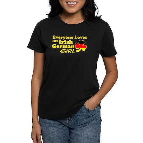 Irish German Girl Women's Dark T-Shirt