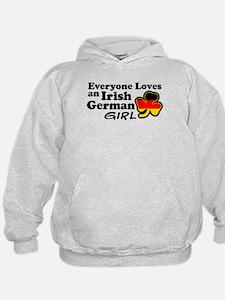 Irish German Girl Hoodie