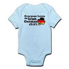 Irish German Girl Infant Bodysuit