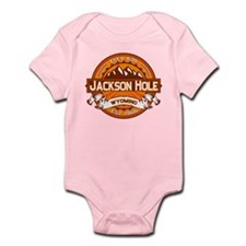 Jackson Hole Tangerine Infant Bodysuit