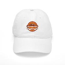 Jackson Hole Tangerine Baseball Cap