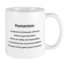 Grand Traverse Humanist DNA Logo Coffee Mug