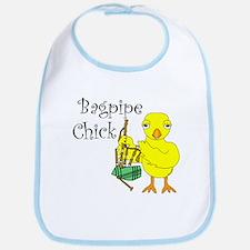 Bagpipe Chick Text Bib