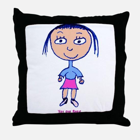 Summer Solstice Throw Pillow