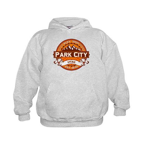 Park City Tangerine Kids Hoodie