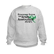 Irish Australian Girl Sweatshirt