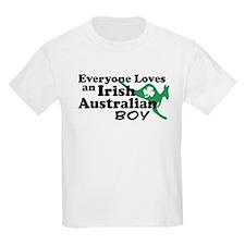 Irish Australian Boy T-Shirt