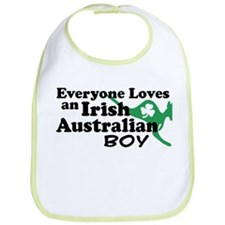 Irish Australian Boy Bib