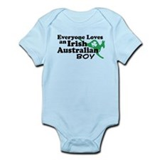 Irish Australian Boy Infant Bodysuit