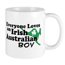 Irish Australian Boy Mug