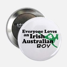 "Irish Australian Boy 2.25"" Button"