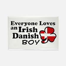 Irish Danish Boy Rectangle Magnet