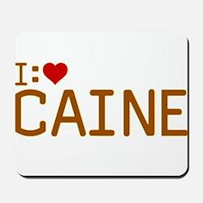 I Heart Caine Mousepad