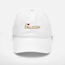 I Heart Calleigh Baseball Baseball Cap