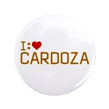 "I Heart Cardoza 3.5"" Button"