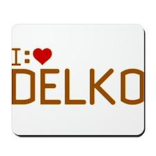 I Heart Delko Mousepad
