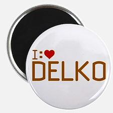 I Heart Delko Magnet