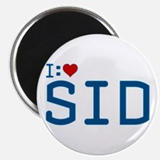 I Heart Sid Magnet