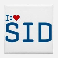 I Heart Sid Tile Coaster