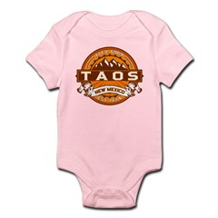 Taos Tangerine Infant Bodysuit