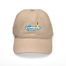 Bellmar NJ - Surf Design Baseball Baseball Cap