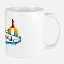 Bellmar NJ - Surf Design Mug