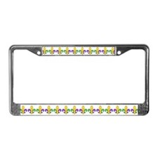 Happy Big Ones License Plate Frame