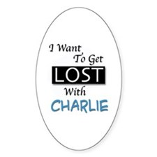 Get Lost With Charlie Decal