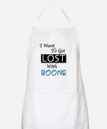 Get Lost With Boone BBQ Apron