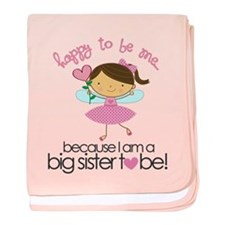 Happy To Be Me Fairy baby blanket