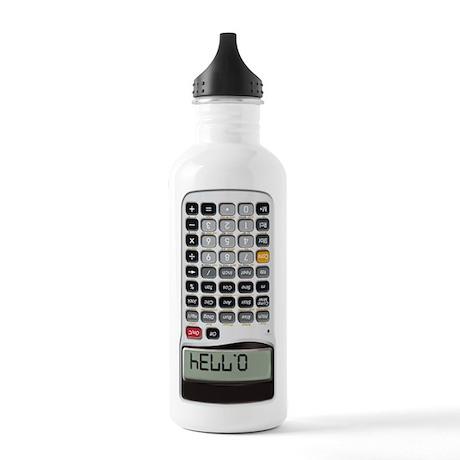 Digital Hello Stainless Water Bottle 1.0L
