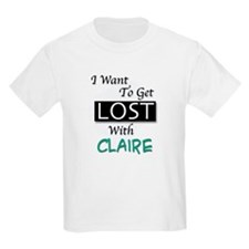 Get Lost With Claire Kids T-Shirt
