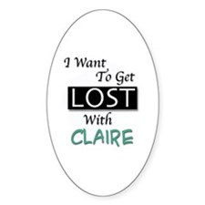 Get Lost With Claire Decal