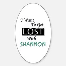 Get Lost With Shannon Decal
