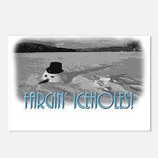 Fargin' Icehole! Postcards (Package of 8)