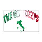 The Gattozzi 22x14 Wall Peel